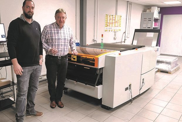 Imprimerie Ossa investeert in volle coronacrisis