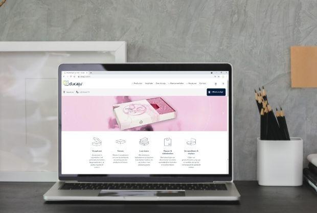 DUCAJU® heeft een nieuwe website: ducaju.com
