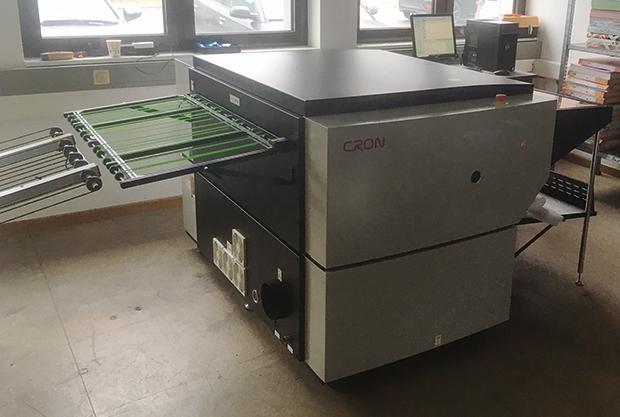 Weprint investit dans un CTP CRON et des plaques offset Fuji sans développement