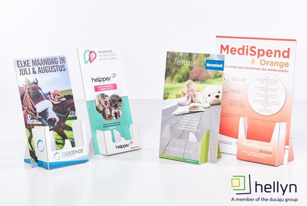 Hellyn ondersteunt uw project met het ideale presentatiemiddel!
