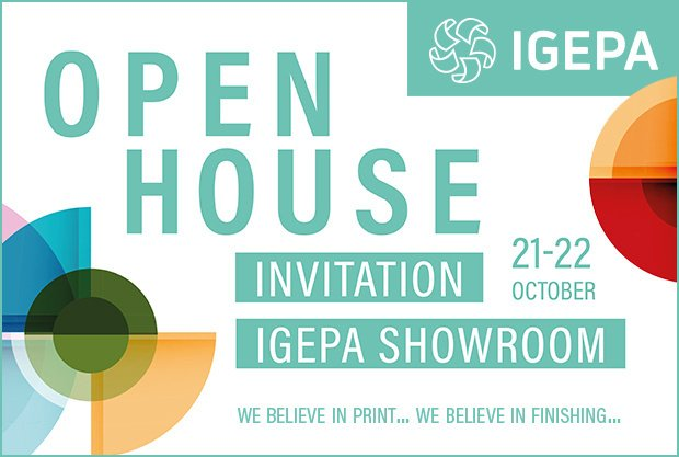 Open house invitation, 21-22 october Igepa showroom