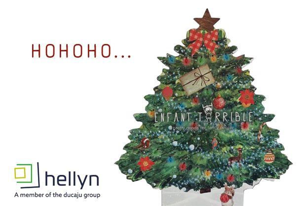 Ho Ho Ho...  Hellyn bedenkt voor u het ideale POS-middel om uw product in de kijker te zetten!
