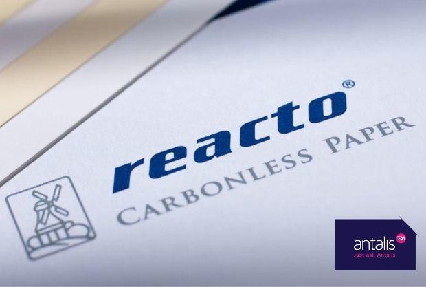 reacto®, LA marque de papier autocopiant