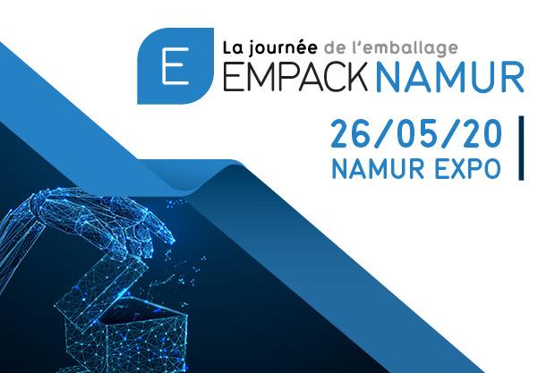 Empack Namur, la journée de l'emballage