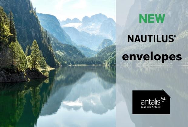 Nu beschikbaar: NAUTILUS® enveloppen, 100% recycled