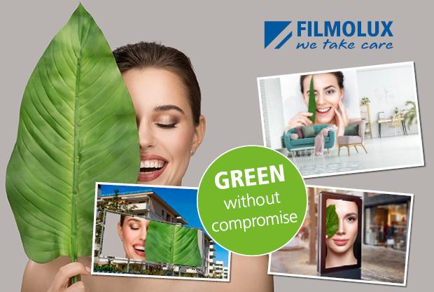 FILMOeco Kavalan, 100% PVC-vrije bannermaterialen & wanddecoratie