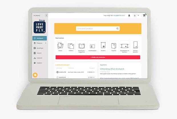 Nieuwe manier van bestellen: ontdek de webapp van Print.com