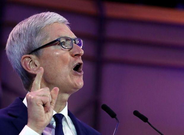 Tim Cook, le directeur d'Apple, s'exprime à propos du racisme