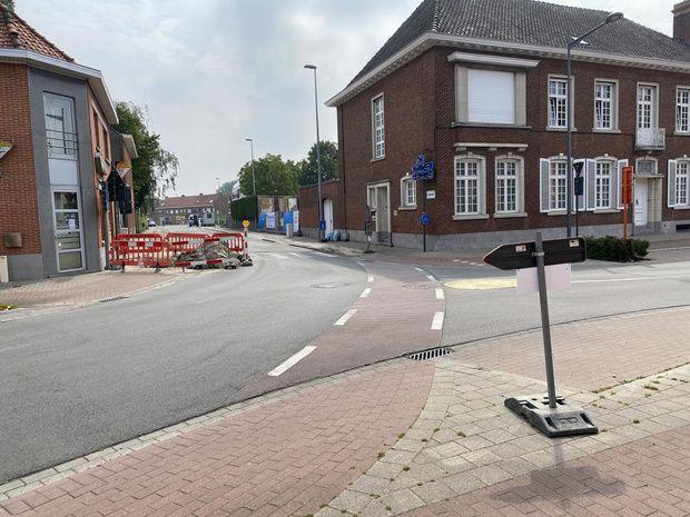 Kruispunt Brugge-/Meulebekestraat dicht vanaf 10 november