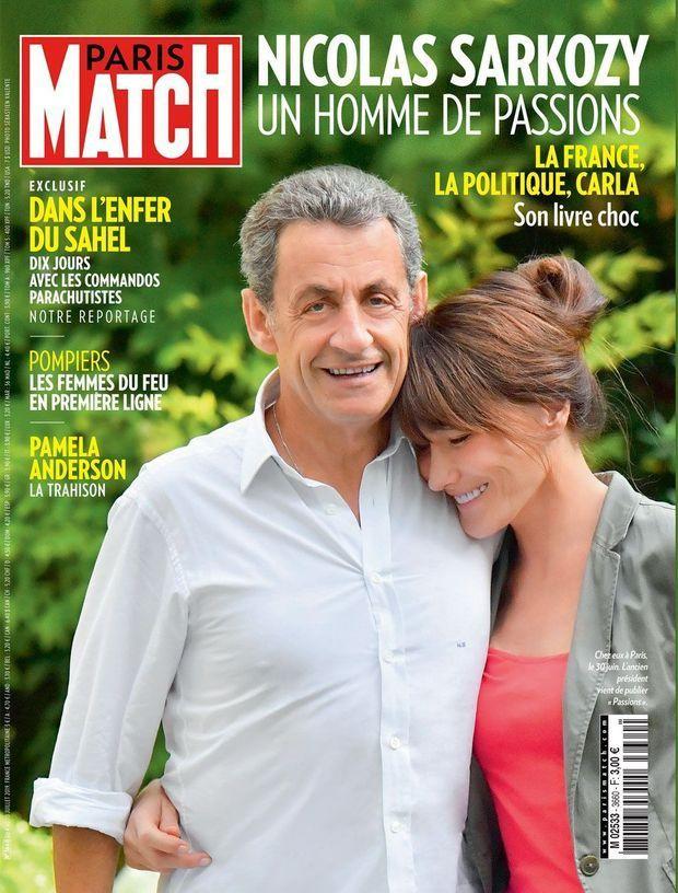 Sarkozy subitement plus grand que Carla Bruni? Paris Match se défend et les réseaux sociaux s'en amusent (en images)