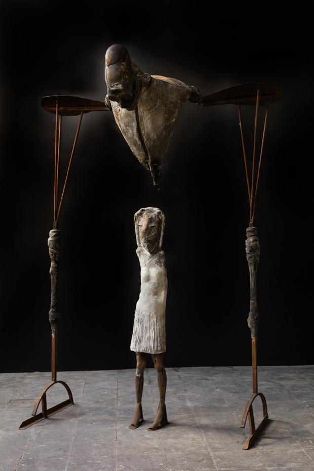 Nieuwe expo van Koenraad Tinel: 'Met ijzer kan ik toveren'