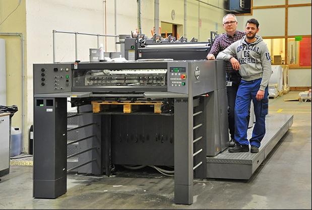 Manufast élargit son marché avec sa nouvelle presse cinq couleurs RMGT 920ST