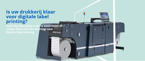 Bent u klaar voor digitale label printing?