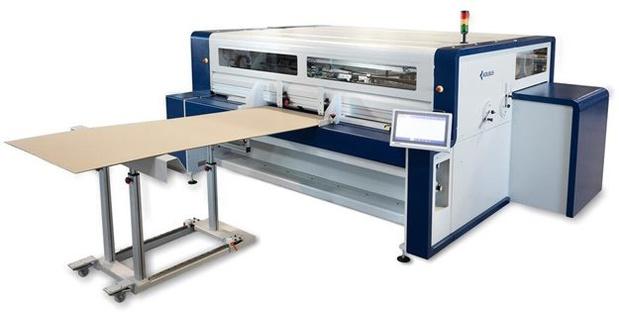 NOUVEAUTÉ: Machine à caisses KOLBUS Autobox AB 310 avec impression numérique en ligne
