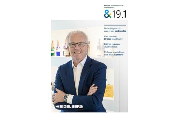Ampersand 19.1, het magazine van Heidelberg Benelux is uit