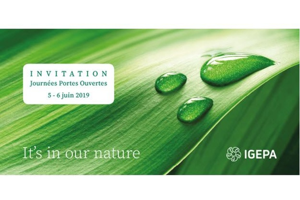 LAST CALL: Journées Portes Ouvertes @ Igepa...... It's in our nature!