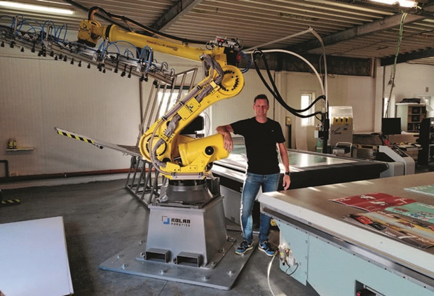Canon: Robot bedient Arizona printer bij Publi-Royal