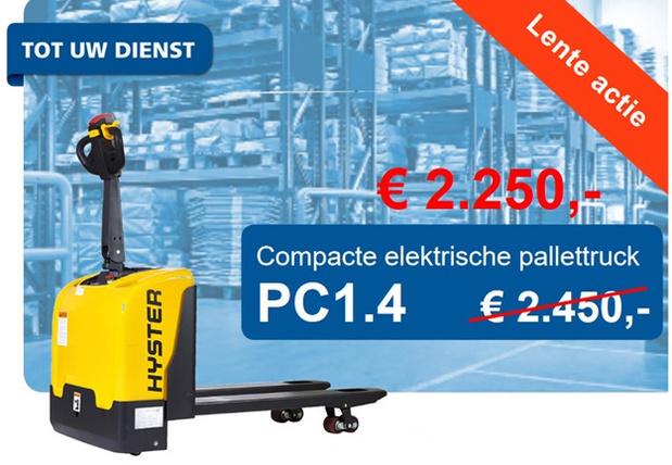 Actie elektrische pallettruck, PC1.4