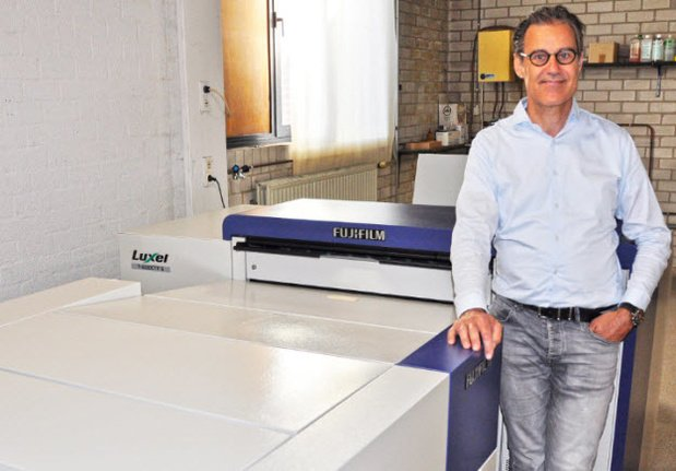 L'imprimerie De Croon van Heerbeek réinvestit dans une flasheuse de plaques Fuji