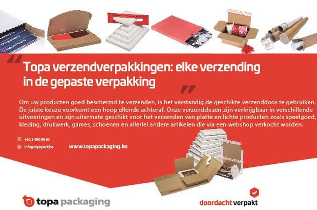 Topa verzendverpakkingen: elke verzending in de gepaste verpakking
