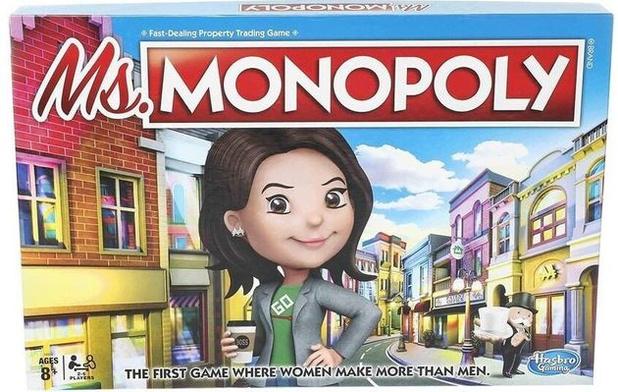 Dans le nouveau Monopoly, les femmes gagnent plus que les hommes