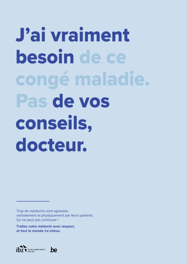 Stop aux agressions envers les médecins
