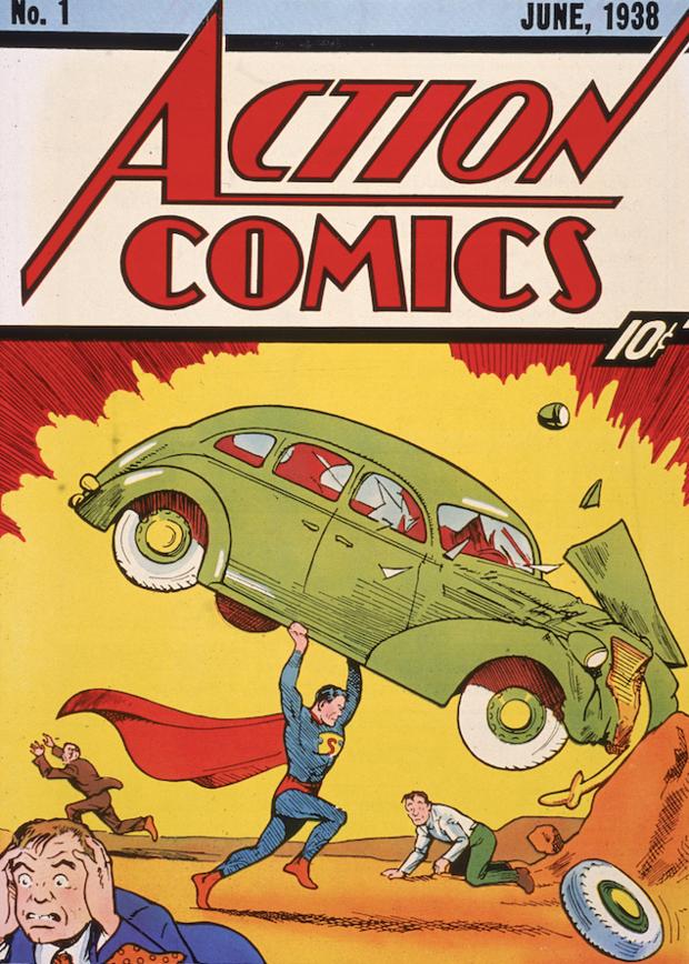 Zeldzame Superman-strip verkocht voor miljoenen