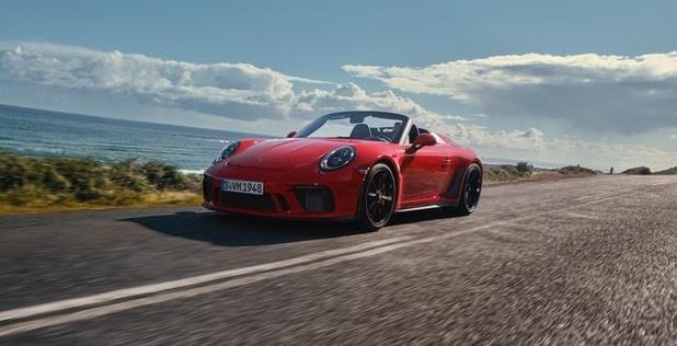 La 911 Speedster de production au salon de New York