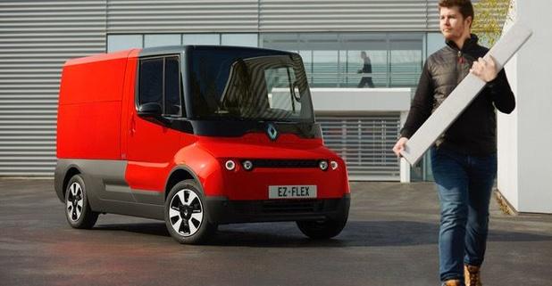 Un concept de fourgonnette électrique chez Renault