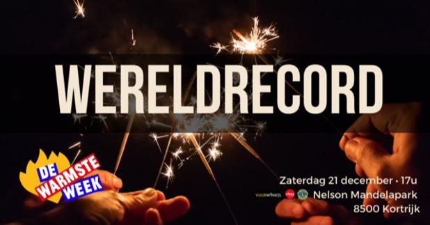Nog 2.000 mensen gezocht om wereldrecord 'vuurwerkstokjes aansteken' te breken