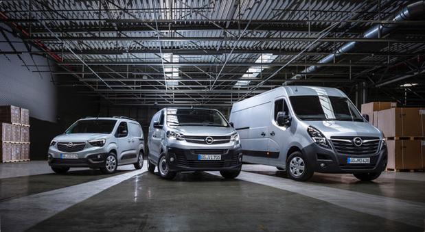 Une nouvelle gamme de véhicules utilitaires chez Opel