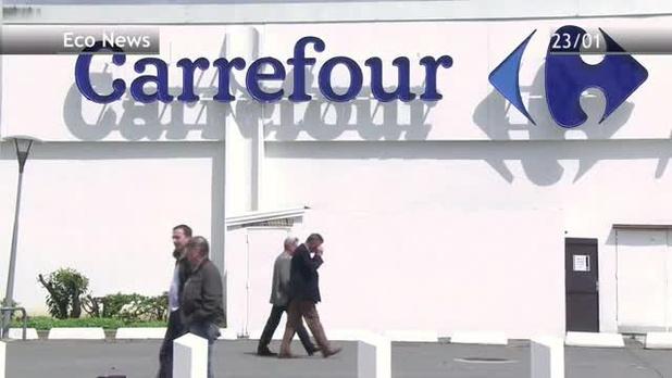 Les magasins Carrefour fermés vendredi matin ouvrent progressivement