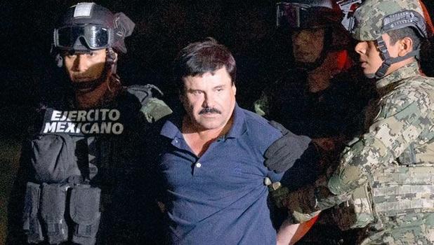 Drugsbaron 'El Chapo' veroordeeld tot levenslang plus 30 jaar