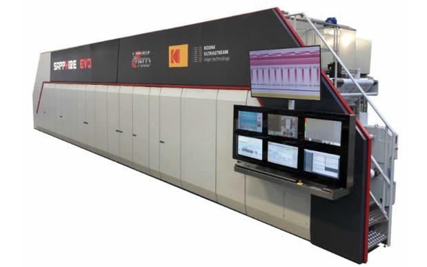Digitale inkjetrotatiepers voor flexibele verpakkingen