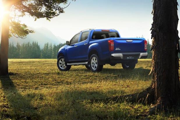 Isuzu D-Max bekroond als meest milieuvriendelijke pick-up