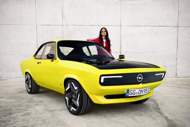 De Opel Manta kan ook elektrisch