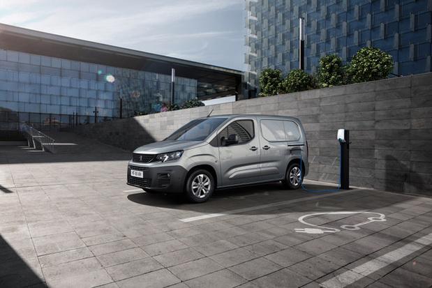 Peugeot lance son Partner électrique