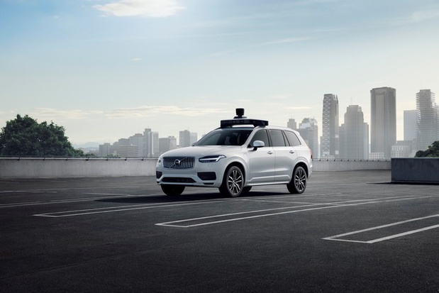 Volvo lanceert zelfrijdend productievoertuig voor Uber