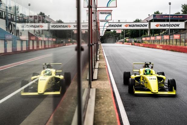 Elektrische racewagen breekt record