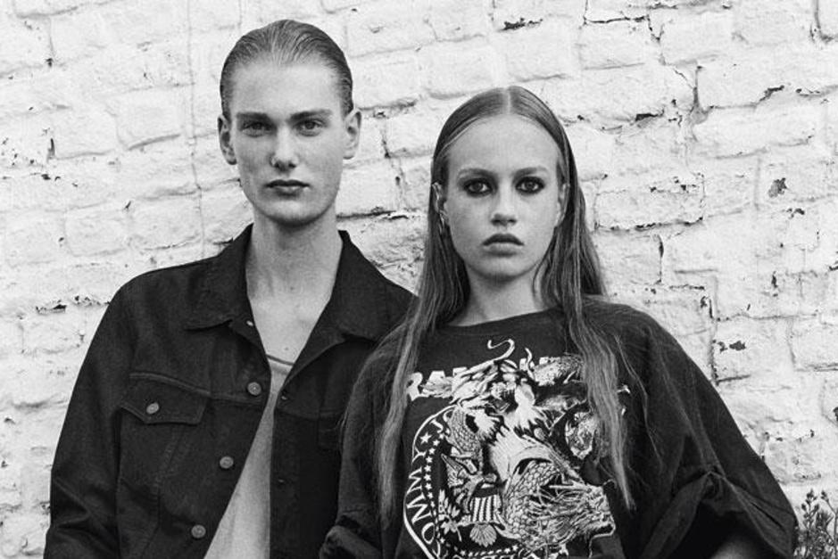Jongeren in beeld: vintage mode met een vleugje punk