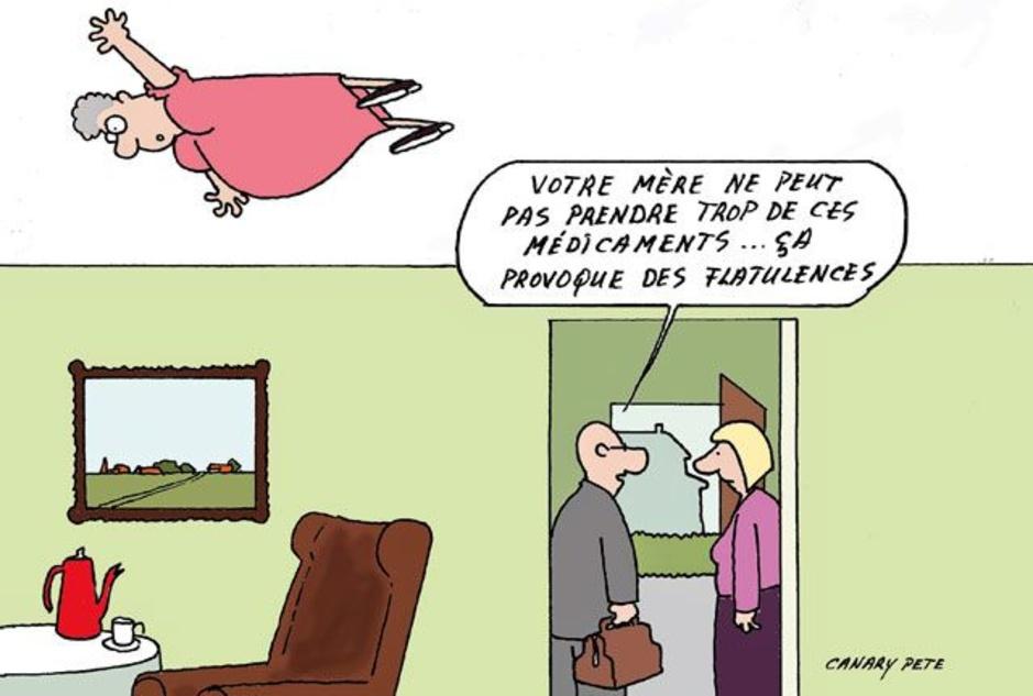 les cartoons du Pharmacien