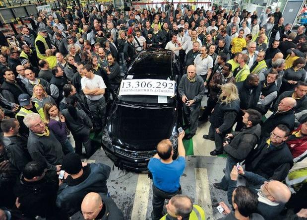 Laatste wagen rolde tien jaar geleden van de band bij Opel Antwerpen