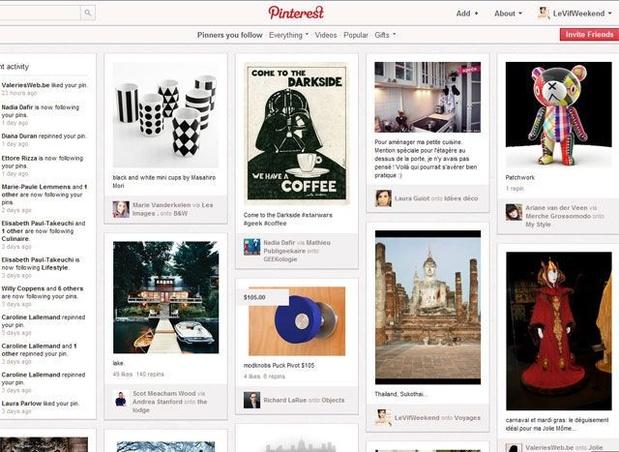 'Pinterest a une valeur moindre que prévu'