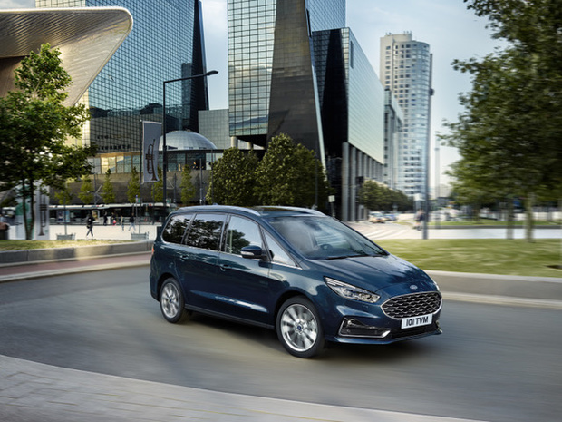 Ford stipt S-Max en Galaxy bij