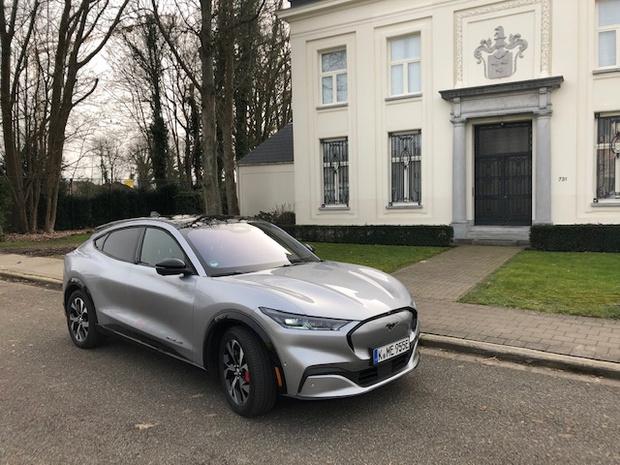 Mustang zet elektrische transitie van Ford in