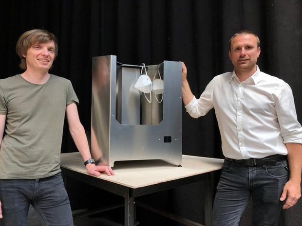 Une startup belge fabrique des appareils de désinfection à la lumière UVC
