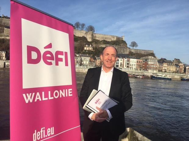 """Le pari citoyen de DéFI en Wallonie: """"Oser changer après le Covid"""" (entretien)"""
