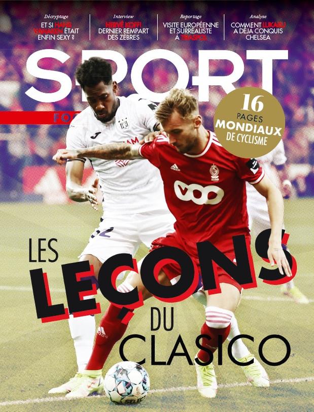 Au menu de Sport/Foot Mag: les leçons du Clasico et 16 pages spéciales Mondiaux de cyclisme