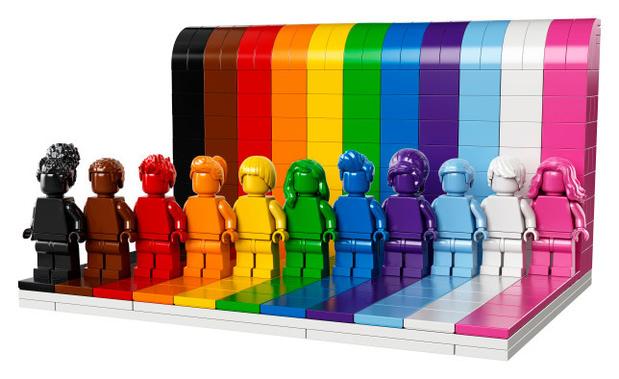 Lego lance un nouveau set pour célébrer la diversité et la communauté LGBTQIA +