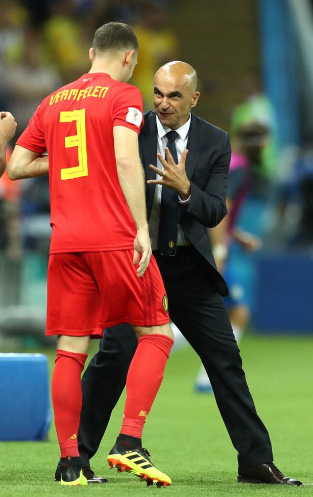 Martinez satisfait de la forme de ses 3 joueurs clé, Vermaelen n'a jamais peur de se blesser